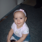 Lilly at 9 months