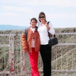 Jasmine & Mel over Rio Grande Gorge