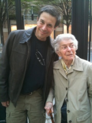Me and my 89 year old aunt a few weeks ago, 2010