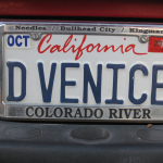 Dad's plate on his truck