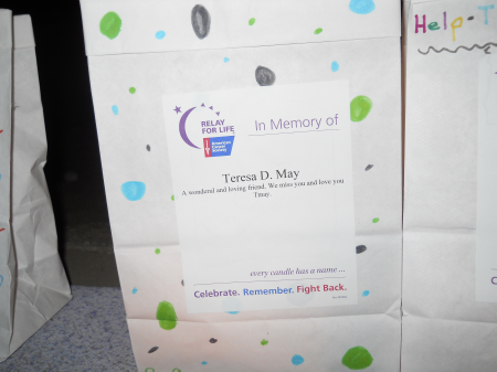 2011 Relay for Life..Tmay