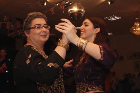 At the 'Bollywood Ball'
