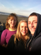 Me with oldest son and daughter-in-law