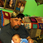 David with his baby Nephew