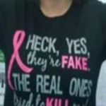 Breast cancer t shirt