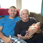 MY FIRST GREAT GRANDCHILD