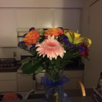 Flowers from my son