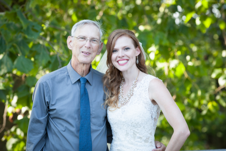 Dad was Able to Be at My Wedding This August!!!